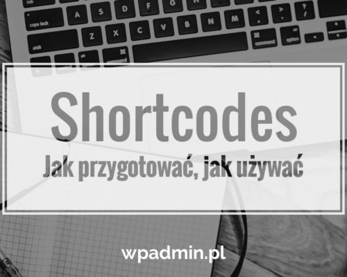 WordPress Kurs Shortcodes