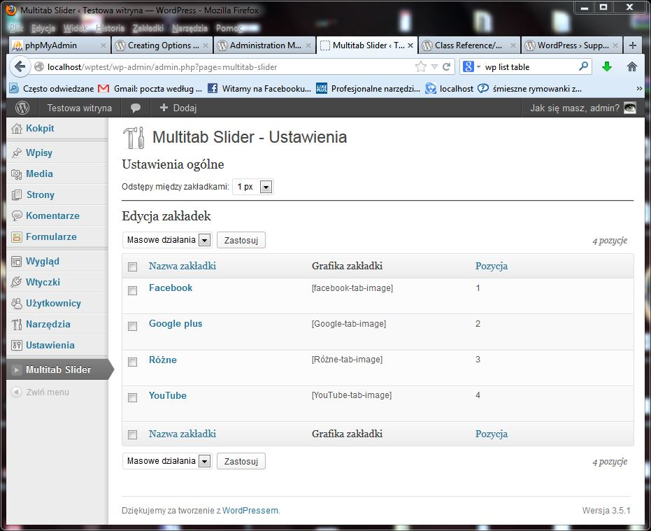 Piszemy plugin do WordPress