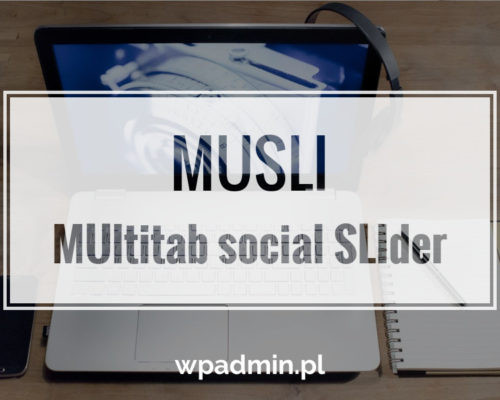 Multitab social slider