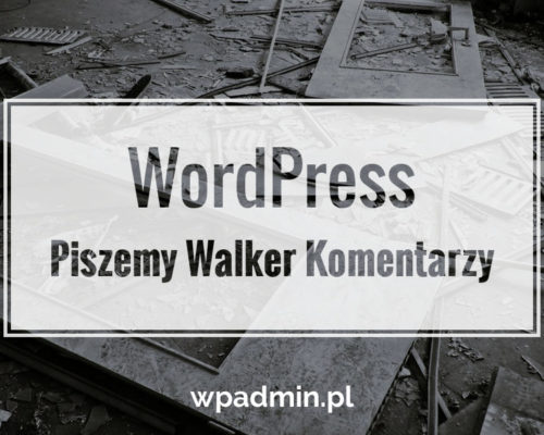 WordPress Walker Komentarzy
