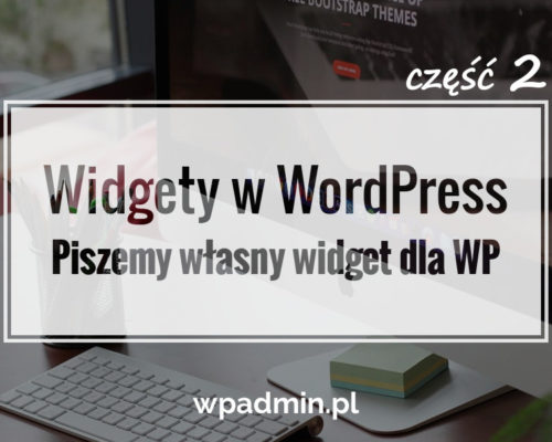 Piszemy Widget do WordPress