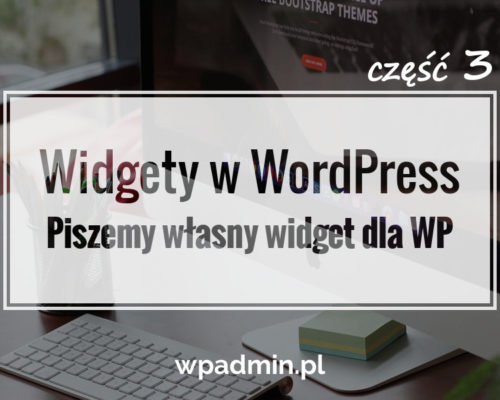 Piszemy widget WordPress