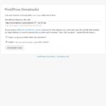 Instalacja WordPress z WordPress Downloaderem