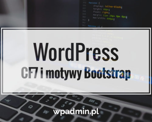 Contact Form 7 motywy Bootstrap