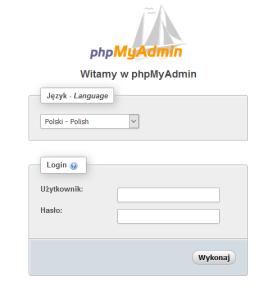 Losowanie zwycięzców phpmyadmin