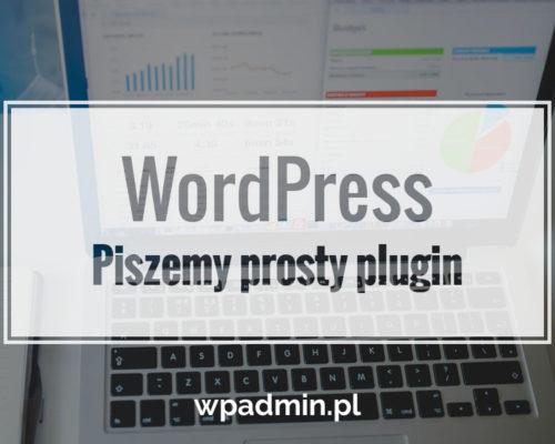 Piszemy prosty plugin do WordPress