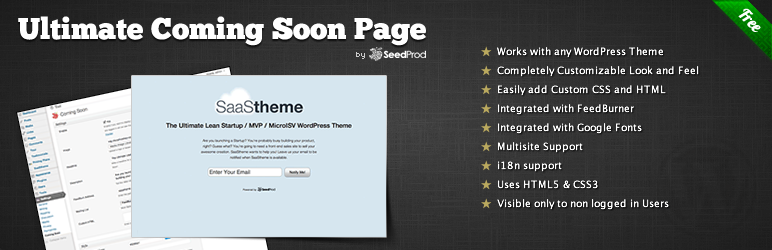 WordPress strona startowa