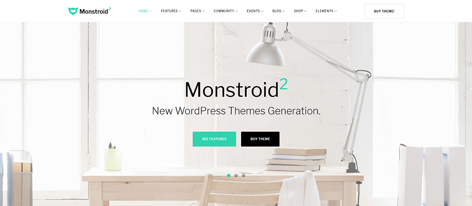 TemplateMonster Monstroid2 Header