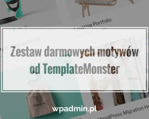 WordPress darmowe motywy od templatemonster